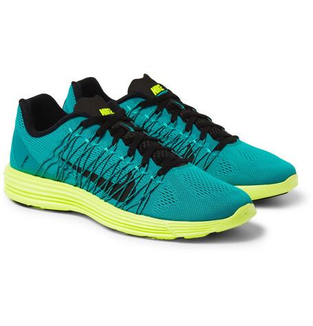 NikeLunar Racer+ 3 Mesh Sneakers