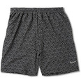Nike Dri-Fit 2-in-1 Printed Running Shorts