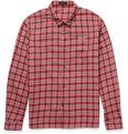 Undercover Plaid Cotton-Flannel Shirt