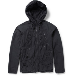 Undercover Printed Cotton Lightweight Hooded Jacket