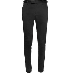 Undercover Slim-Fit Panelled Cotton-Blend Trousers