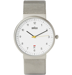 Braun x Dieter Rams BN0032 Stainless Steel Watch