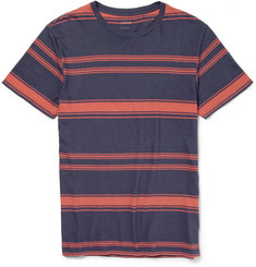 J.Crew Striped Cotton and Linen-Blend Jersey T-Shirt