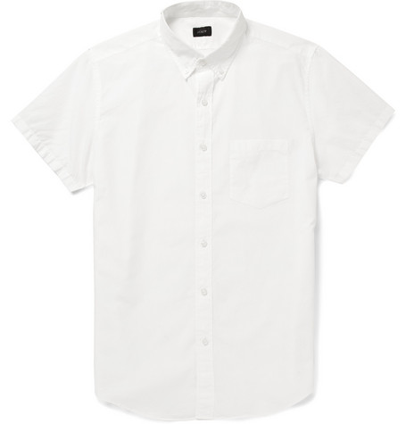 J.Crew Regular-Fit Washed Cotton Shirt