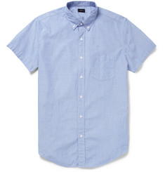 J.Crew Cotton Short-Sleeved Shirt