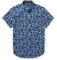 J.Crew - Printed Button-Down Collar Cotton Shirt