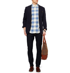 J.Crew Regular-Fit Check Cotton Oxford Shirt