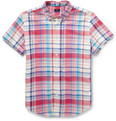 J.Crew - Check Cotton Oxford Shirt