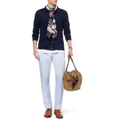 J.Crew Broken In Slim-Fit Brushed-Cotton Chinos
