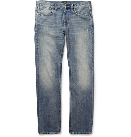 J.Crew 484 Slim-Fit Washed Denim Jeans