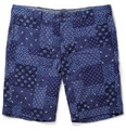 J.Crew - Stanton Printed Patchwork Cotton Shorts