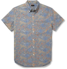 J.Crew Printed Chambray Shirt