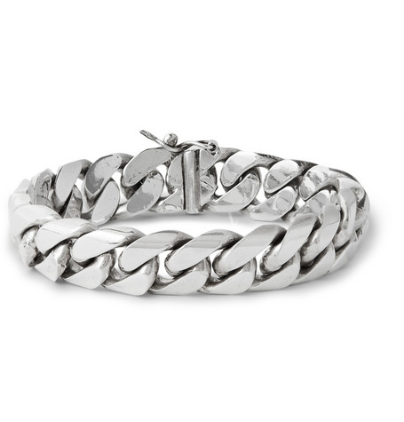 Foundwell Sterling Silver Chain Bracelet