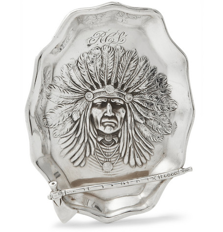 Foundwell Unger Sterling Silver Chief Pin Tray