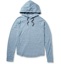 James Perse Brushed Cotton-Jersey Hoodie
