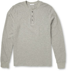 James Perse Cotton-Jersey Henley T-Shirt