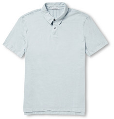 James Perse Cotton Polo Shirt
