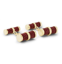 Trianon 18-Karat Gold And Stingray Cufflinks