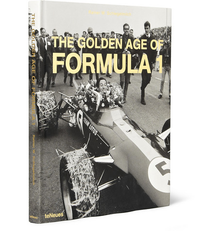 TeNeues The Golden Age Of Formula 1 By Rainer W. Schlegelmilch Hardcover Book
