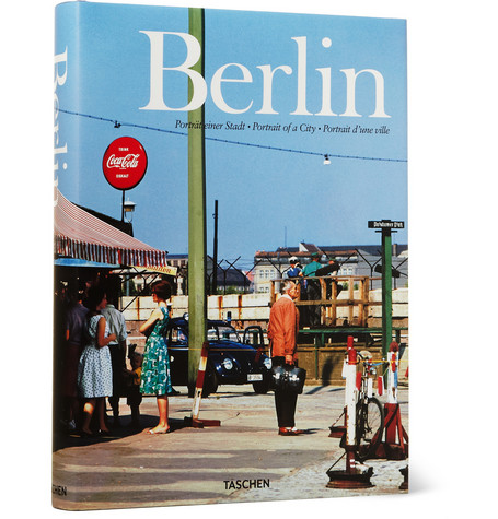 Taschen Berlin Portrait Of A City By Hans-Christian Adam Hardcover Book