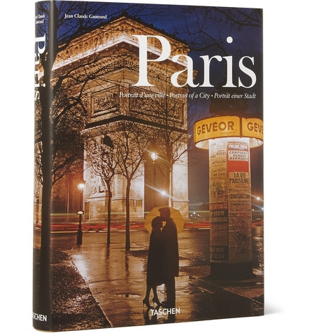 Taschen Paris Portrait Of A City By Jean Claude Gautrand Hardcover Book