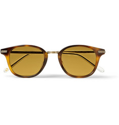 Garrett Leight California Optical Venezia Tortoiseshell Acetate Sunglasses