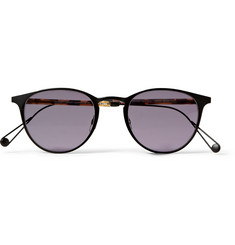 Garrett Leight California Optical Oxford Round-Frame Sunglasses