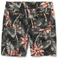 Neighborhood Slim-Fit Printed Corduroy Shorts