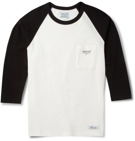 Neighborhood Raglan-Sleeved Cotton-Jersey T-Shirt