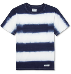 Neighborhood Tie-Dye Striped Cotton-Jersey T-Shirt