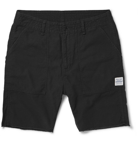 Neighborhood Regular-Fit Cotton-Twill Cargo Shorts