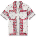 Neighborhood - Printed Cotton Short-Sleeved Shirt