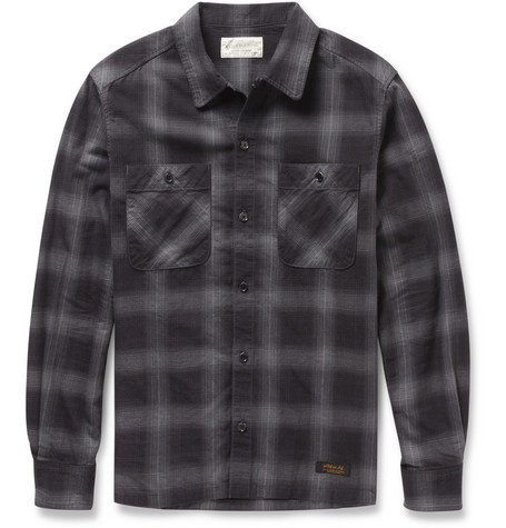 Neighborhood Plaid Cotton Shirt
