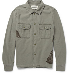 Remi Relief Washed-Cotton Overshirt