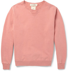 Remi Relief Washed Loopback Cotton-Jersey Sweatshirt