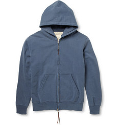 Remi Relief Washed Cotton-Jersey Hoodie