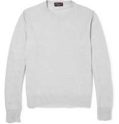 Doriani Linen and Cashmere-Blend Sweater