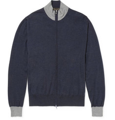 Doriani Lightweight Cashmere and Silk-Blend Cardigan