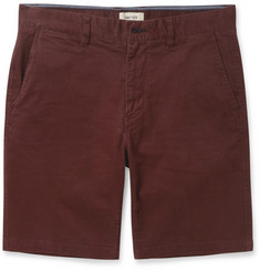 NN.07 Marco Cotton-Blend Twill Shorts