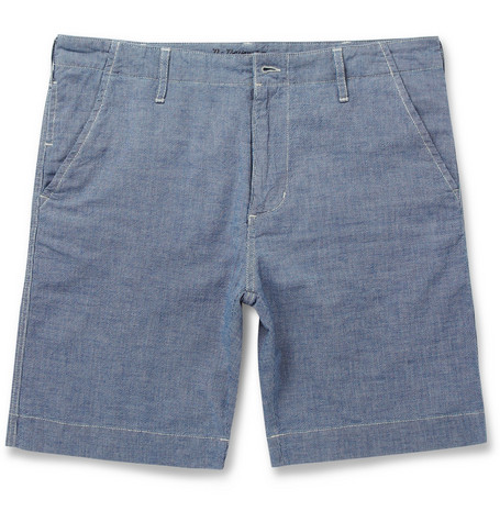 NN.07 Will Woven-Cotton Shorts