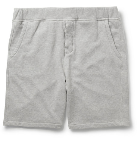 NN.07 Aiden Loopback Cotton-Blend Jersey Shorts