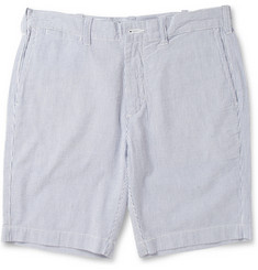 NN.07 Florence Cotton-Seersucker Shorts