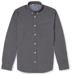NN.07 Anders Button-Down Collar Cotton Shirt