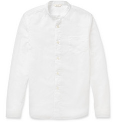 NN.07 Samuel Cotton and Linen-Blend Shirt
