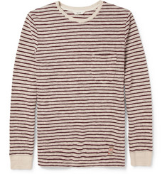 NN.07 Ned Striped Slub Cotton-Jersey T-Shirt