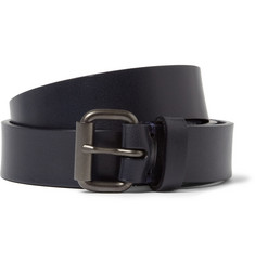 Álvaro Navy 2.5cm Leather Belt