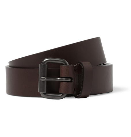 Álvaro Brown 2.5cm Leather Belt