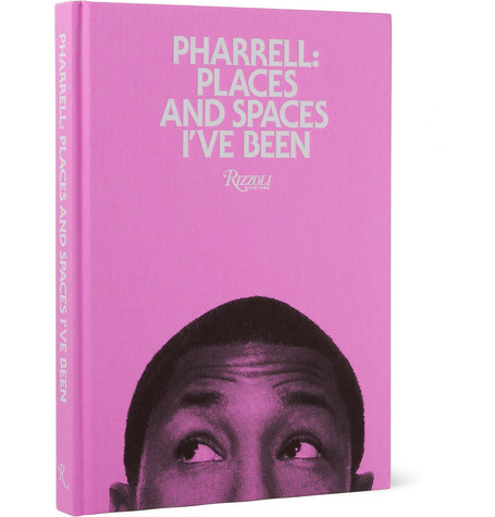 Rizzoli Pharrell: Places And Spaces I've Been By Pharrell Williams Hardcover Book