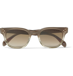 Oliver Peoples Square-Frame Acetate Sunglasses