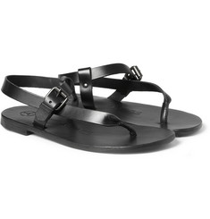 Álvaro Buckled Leather Sandals